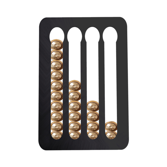 Nespresso Coffee Capsule Holder Stand Rotary Coffee Pod Tower Rack Rotatable Coffee Pods Storage Shelves For Nespresso 2020 New - Tolerant Planet