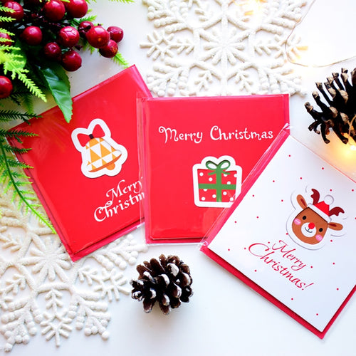 12pcs Cute Mini Greeting Cards - Holiday, Christmas Greeting Cards - Tolerant Planet