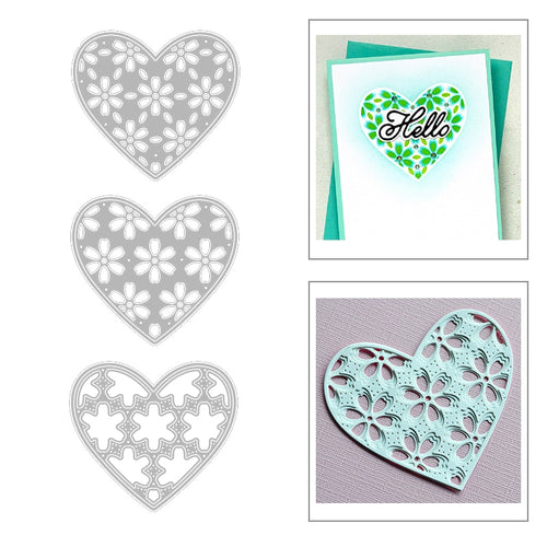 Heart Frame Metal Cutting Dies - Tolerant Planet