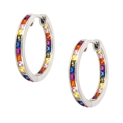 Amazingly Beautiful, Chanel Set Crystal Hoops