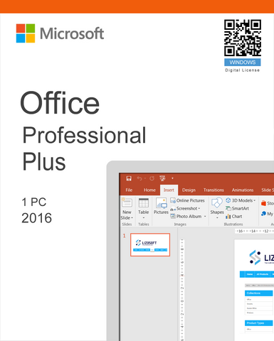 Office 2016 Professional Plus - 1 PC