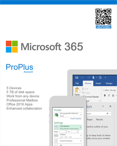 Office 365 Professional Plus - 5 Device