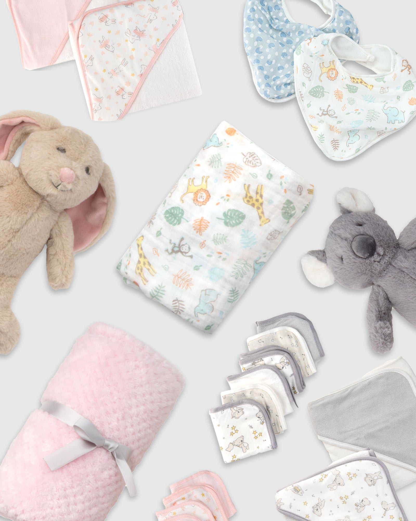 Little Linen has a variety of products ranging from bibs, hooded towels, plush toys, washers and more for your baby needs.