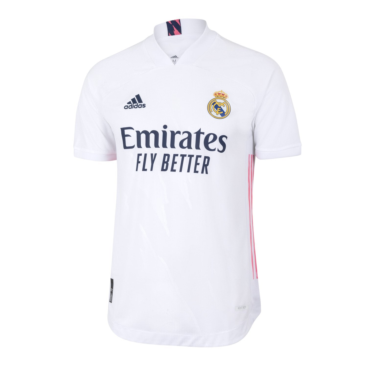 Mens Real Madrid Home Authentic Shirt 20/21