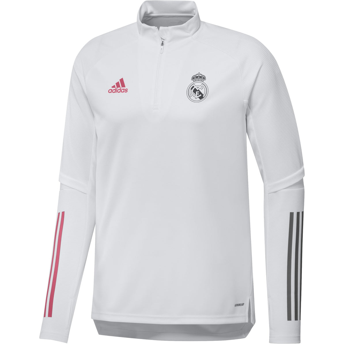 Real Madrid Mens Training Top White