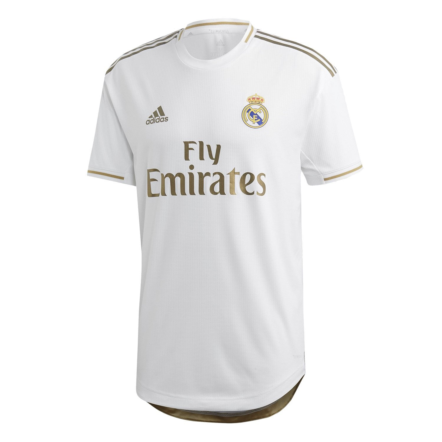 Mens Real Madrid Authentic Home Shirt 19/20 - White