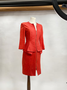 Red Vintage Dress - In Stock