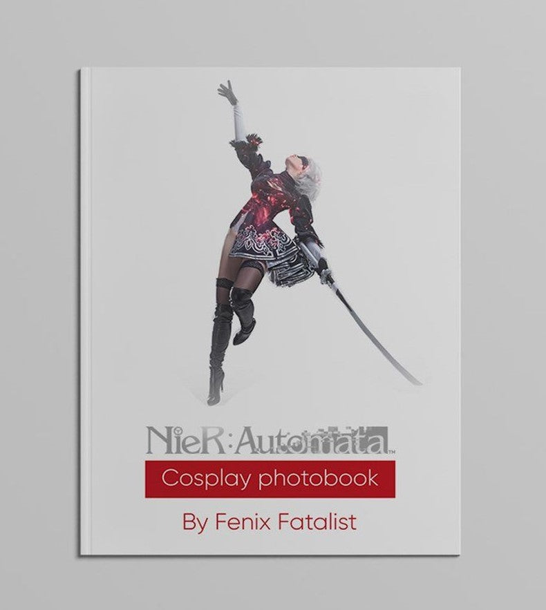 Nier Automata Digital Photobook