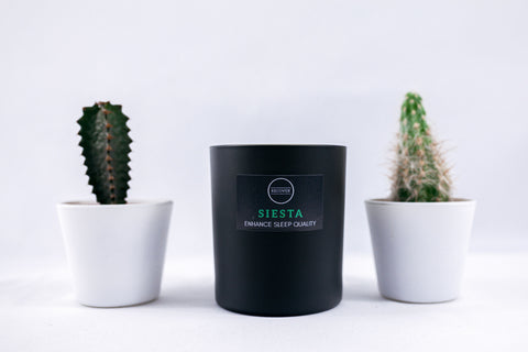 Siesta sleep candle