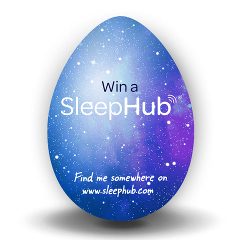 win a sleephub easter egg hunt prize draw