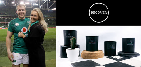 Recover Scents Candles Emma Sharples and Will Addison