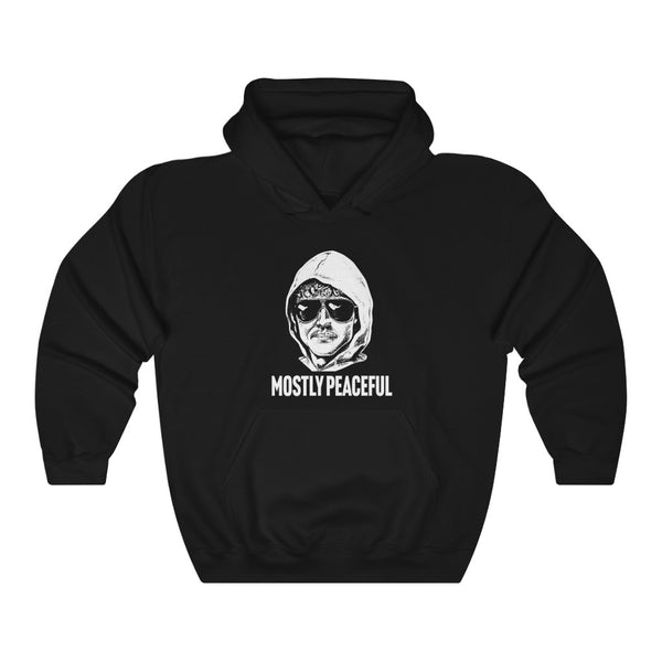 Mostly Peaceful Protestor Unabomber Unisex Heavy Blend™ Hooded Sweatshirt