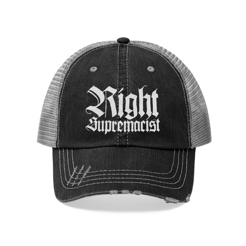 Right Supremacist Unisex Trucker Hat