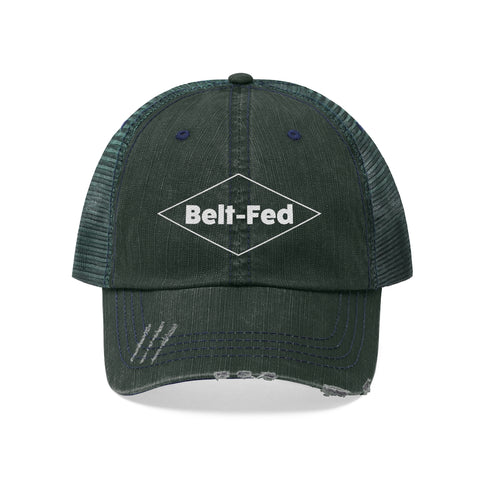 Belt Fed Beer Vintage Logo Mesh Hat