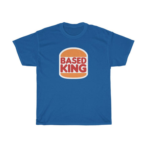 Based King Unisex Heavy Cotton Tee T-Shirt