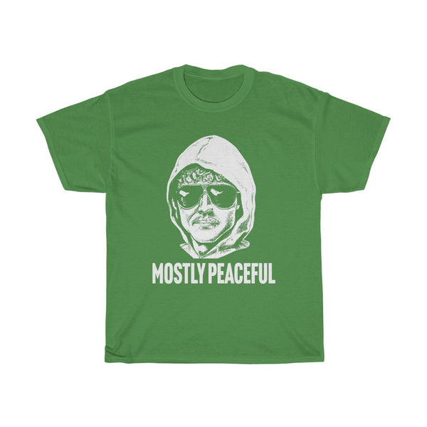 Mostly Peaceful Protestor Unabomber Cotton Tee