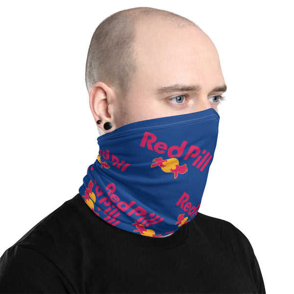 Red Pill Neck Gaiter Mask