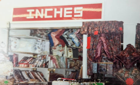 Inches curtains store front