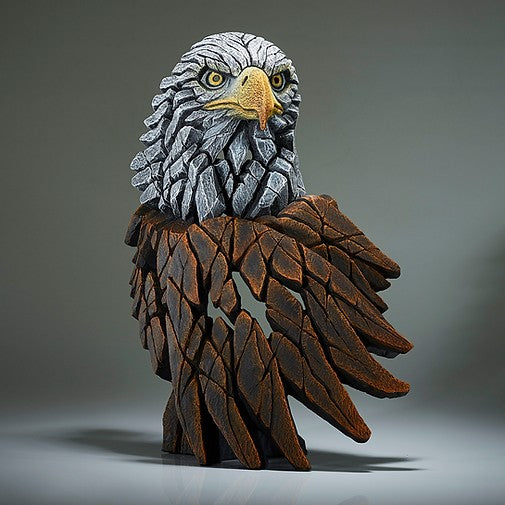 Bald Eagle bust Edge Sculpture