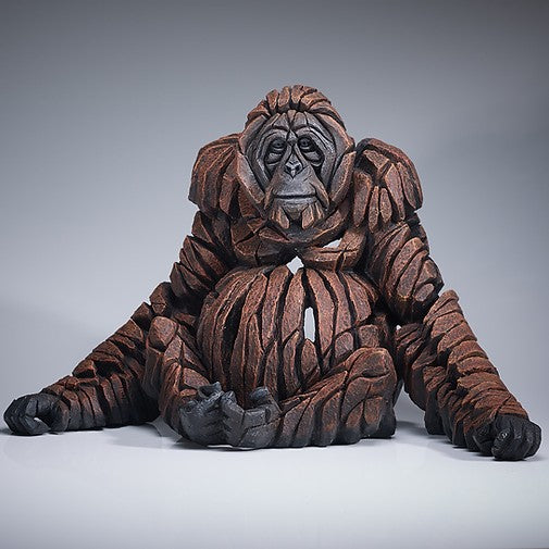 Orangutan figure Edge Sculpture