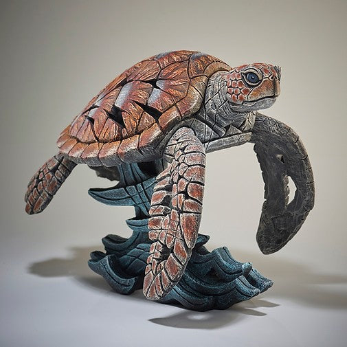 Sea Turtle Edge Sculptures