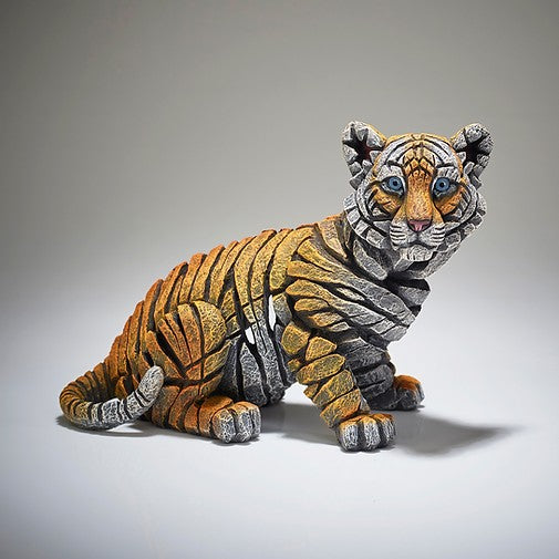 Tiger Cub Figure Edge Sculpture