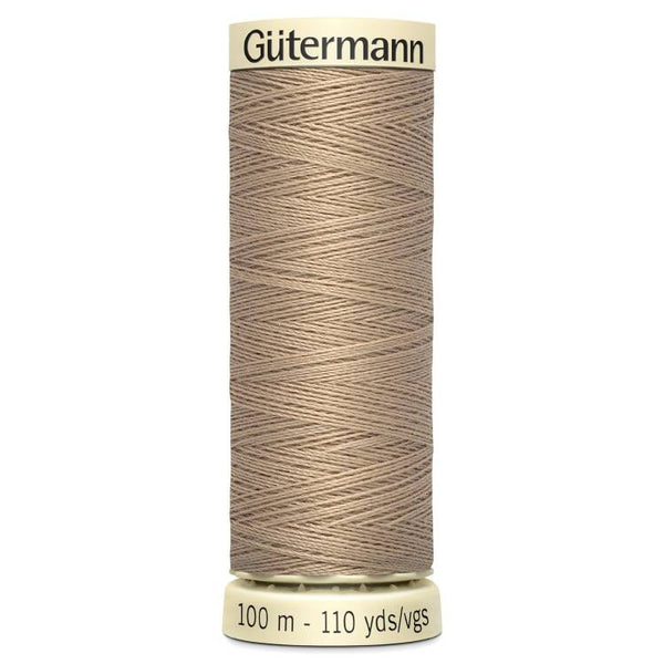 Beige Sew-All Thread (100m)