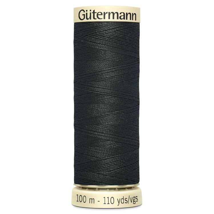 Black Sew-All Thread (100m)