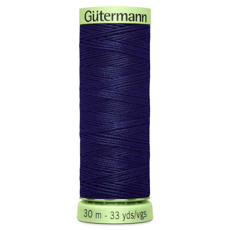 Blue Extra Strong Top Stitch Thread (30m)