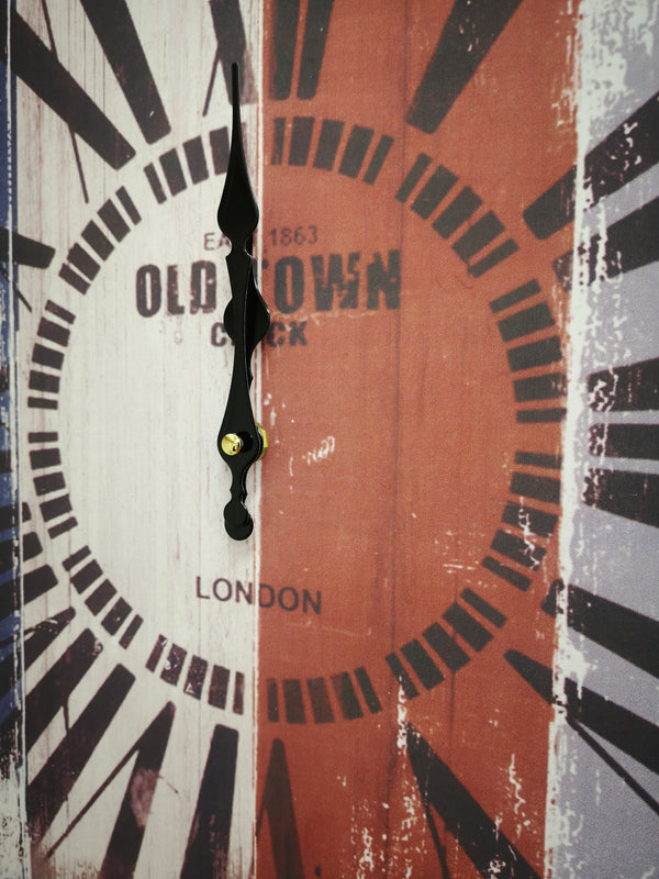 Vintage Square Clock Old Town