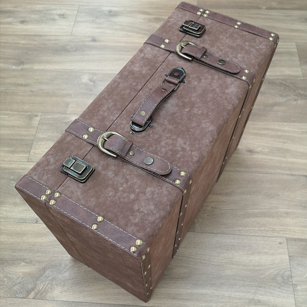 Suitcase storage box Large
