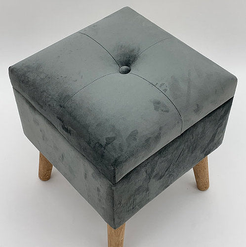 Footstool / trunk Grey