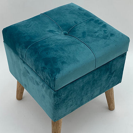 Footstool / trunk Teal
