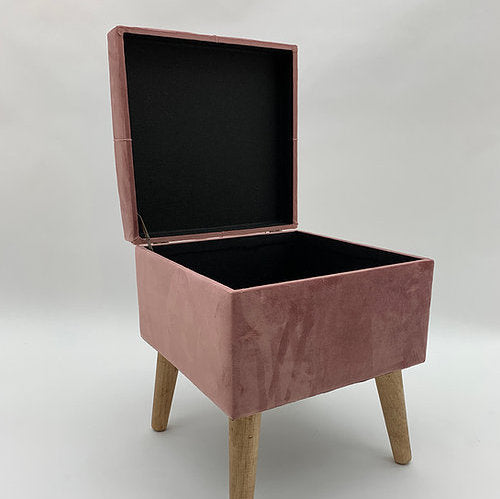 Footstool / trunk Pink