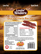 Load image into Gallery viewer, Lovin' Tenders - 7oz Duck Jerky Fillets, $6.50 Bag (Cs: 6 Bags)