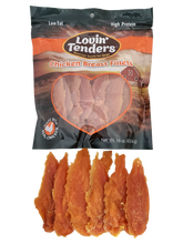 Load image into Gallery viewer, Lovin' Tenders - 16oz Chicken Breast Fillets, $11.99 Bag (Cs: 6 Bags)