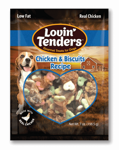 Lovin' Tenders - 7oz Chicken Breast and Small Biscuits