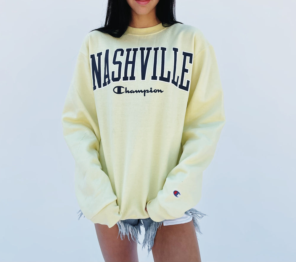 Nashville x Champion Sweatshirt