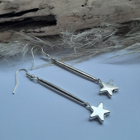 Long silver stars