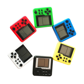 Random Color Consoles Retro Mini 3D Puzzle Kids Russian Box Game Console Portable LCD Players Educational Electronic Toys