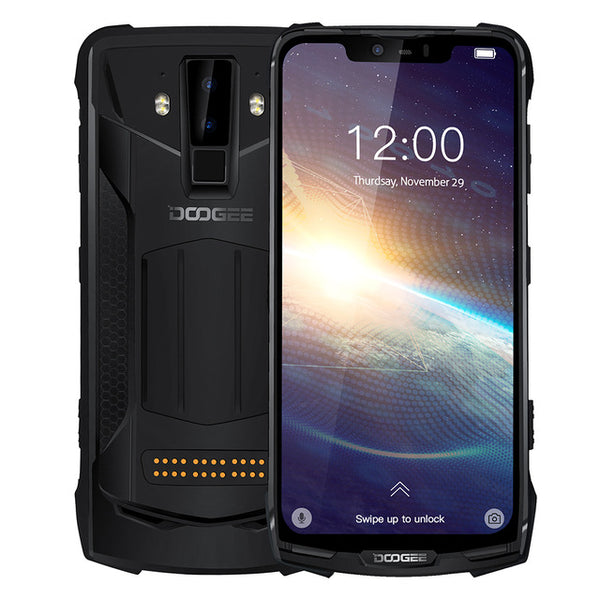 Newest DOOGEE  S90 Pro 9.0 Smartphone IP68 Rugged Octa Core 6GB 128GB 6.18'' FHD+ Display Helio P70  16MP