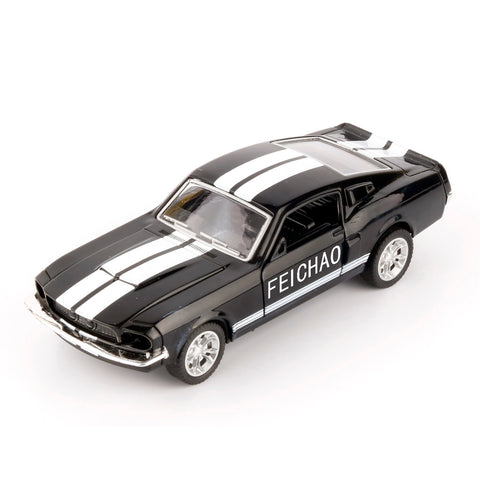 Feichao Car GT500 1:32 Alloy Diecast Metal Pull Back Car Door Openable Mini Racing Sport Cars Toy for Kids Best Gift
