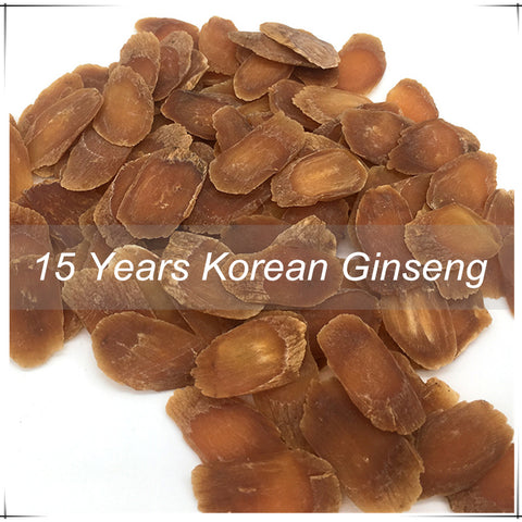 15 years Korean Ginseng Red Panax Organic Improve Human Immunity Health Red Ginseng Roots