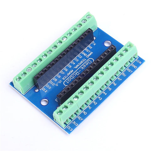A7-- For Arduino NANO Screw Shield Terminal Expansion Board Terminal Board Adapter IO Electronic Circuit Elektronik Devreler