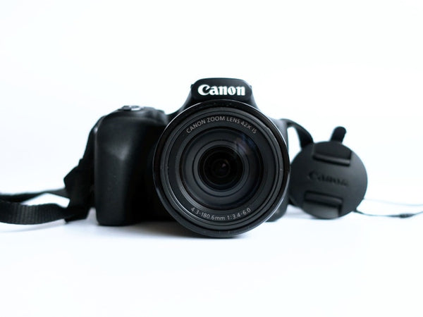 USED Canon PowerShot SX520 16Digital Camera with 42x Optical Image Stabilized Zoom with 3-Inch LCD (Black)