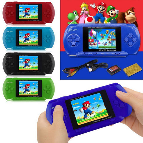 PVP 3000 Handheld Game Player Built-in 89 Games Portable Video 2.8'' LCD Handheld Player For Family Mini Video Game Console box
