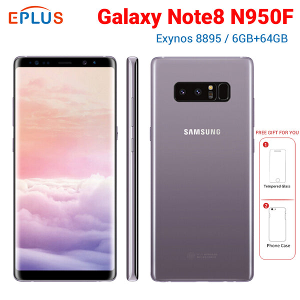 6.3 inch Samsung Galaxy Note8 Note 8 N950F Global Exynos 8895 Octa core 6GB RAM 64GB ROM