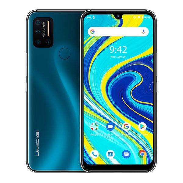 "UMIDIGI A7 Pro Quad Camera Andriod 10 OS 6.3"" FHD+ Full Screen 64GB/128GB ROM LPDDR4X Octa Core"