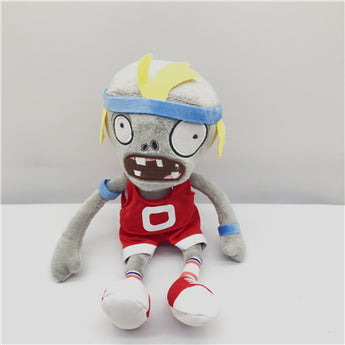 20pcs 15cm New Nice Plants Vs. Zombies Gift Teddy Sport Zombie Soft Doll Plush Toy