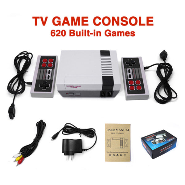 Mini TV Can Store 620 500 Game Console Video Handheld For NES Games Consoles With Retail Box family entertainment